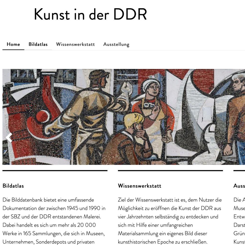 Art in the GDR