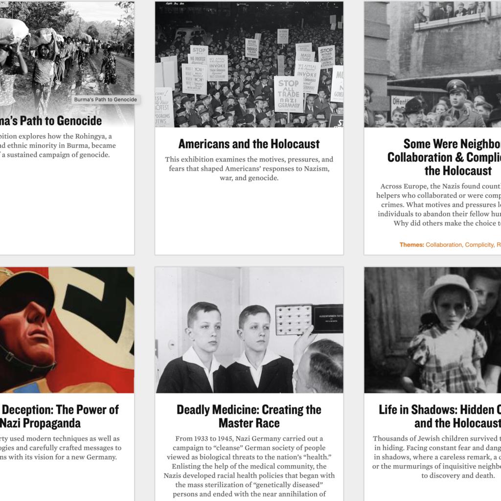 USHMM Online Exhibits