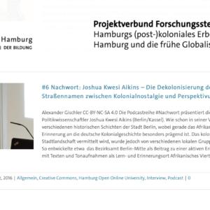 Hamburgs postkoloniales Erbe