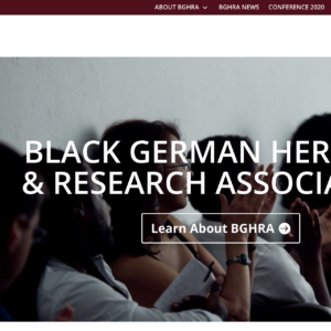 Black German Heritage