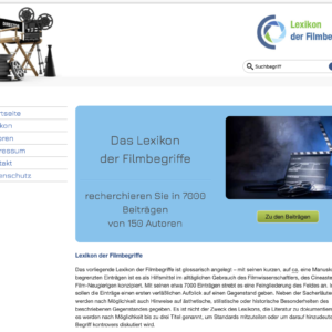 Lexikon der Filmbegriffe
